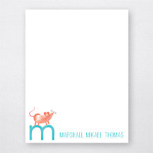 M is for Mouse: Flat Note Card