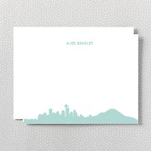 Seattle Skyline: Flat Note Card