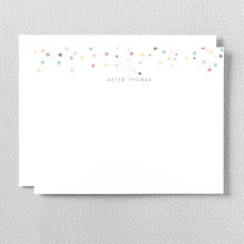 Shooting Star: Flat Note Card