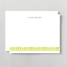 Spring: Letterpress Flat Note Card