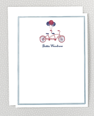 French Bicycle Flat Note Card