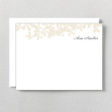 Midsummer: Letterpress Flat Note Card