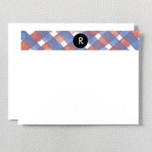 Plaid: Flat Note Card