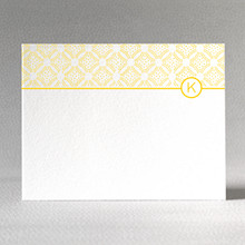 Sophisticate: Flat Note Card