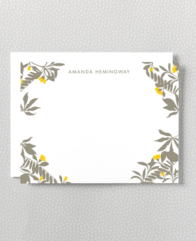 Tropic Flat Note Card