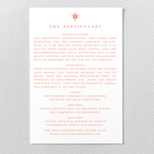 Architecture: Letterpress Details Card