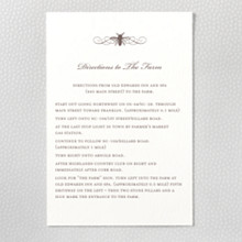 Belle Epoque - Letterpress Details Card