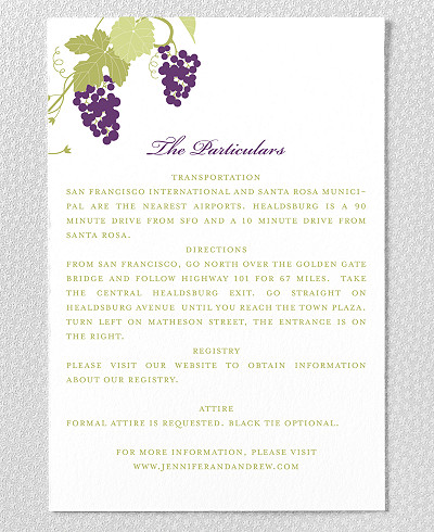 Bordeaux Details Card