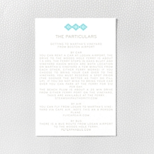Cross Stitch - Letterpress Details Card