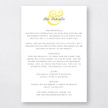 Ampersand - Letterpress Details Card