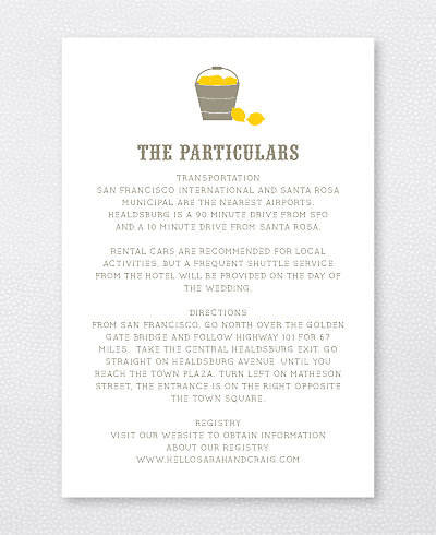 Lemonade Stand Details Card