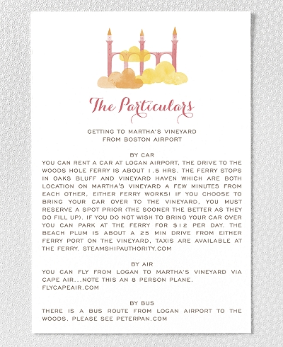 Happily Ever After Details Card