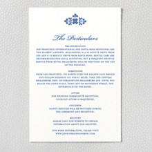Marrakesh: Letterpress Details Card