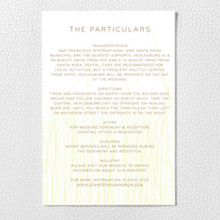 Meadow - Letterpress Details Card