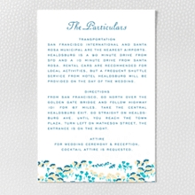 Secret Garden - Letterpress Details Card