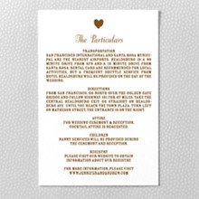Sweetheart - Details Card