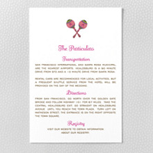Tropical Paradise - Details Card