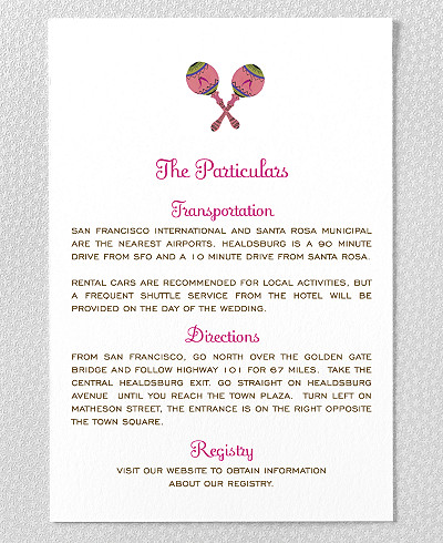Tropical Paradise Details Card
