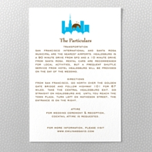 Visit New York - Letterpress Details Card