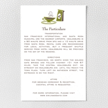 Visit Seattle - Letterpress Details Card