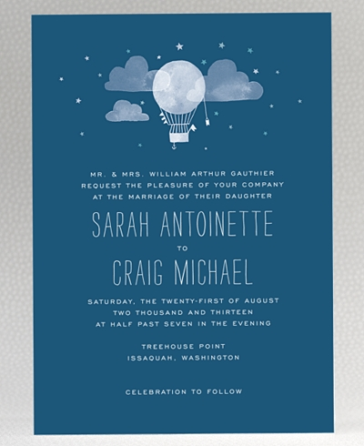 Adventure Wedding Invitation