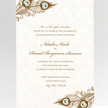 Antoinette: Wedding Invitation