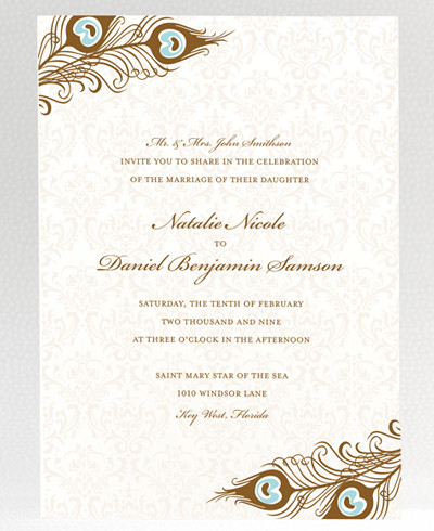 Antoinette Wedding Invitation