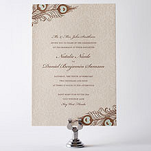 Antoinette - Letterpress Wedding Invitation