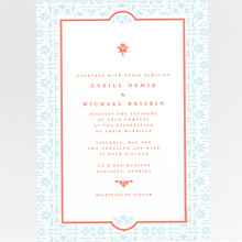 Architecture: Wedding Invitation