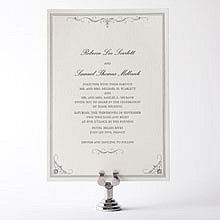 Biltmore: Letterpress Wedding Invitation