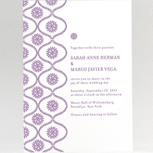 Bohemian: Wedding Invitation