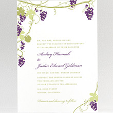 Bordeaux: Wedding Invitation