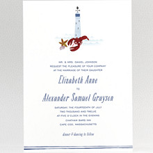 Cape Cod---Wedding Invitation