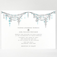 Chandelier: Wedding Invitation