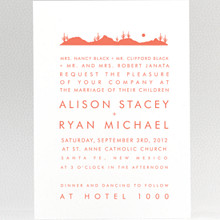 Desert Skyline---Wedding Invitation