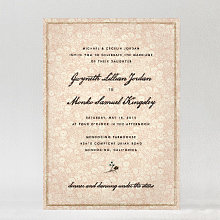 Bluegrass: Wedding Invitation