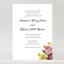 La Vie en Rose---Wedding Invitation