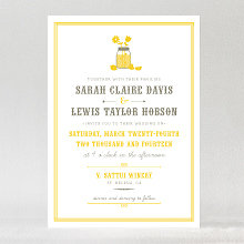 Lemonade Stand---Wedding Invitation