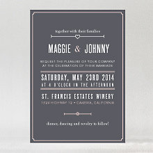 Love and Marriage - Wedding Invitation
