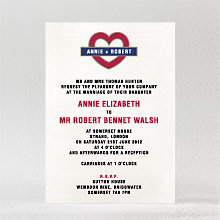 Love London - Wedding Invitation