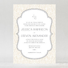 Morris: Wedding Invitation