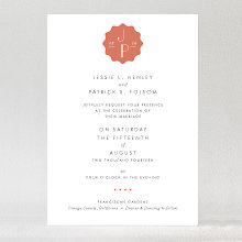Pop Deco---Wedding Invitation