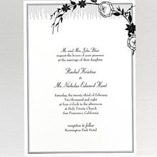 French Deco---Wedding Invitation