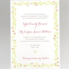 Happily Ever After---Wedding Invitation