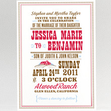 Heartland---Wedding Invitation