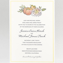 Heirloom Harvest: Digital Wedding Invitation