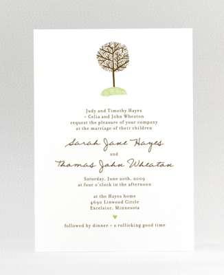 Wedding Invitation 27 Cool bare tree wedding invitations