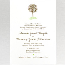 Home Sweet Home---Wedding Invitation
