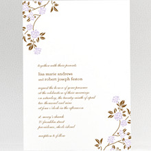Honeysuckle---Wedding Invitation