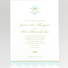Ironwork: Wedding Invitation